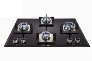 BLOWHOT Majesty Gas Hob Auto Ignition - 8 mm Glass Top