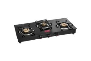 Prestige Marvel Glass Top 3 Burner Gas Stove