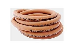 Olrada Reinforced Steel Wire Lpg Hose-Gas Pipe with Clamp