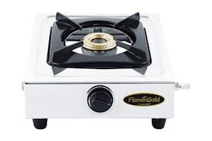 Flamingold Single Burner Gas Stove (Stainless Steel)